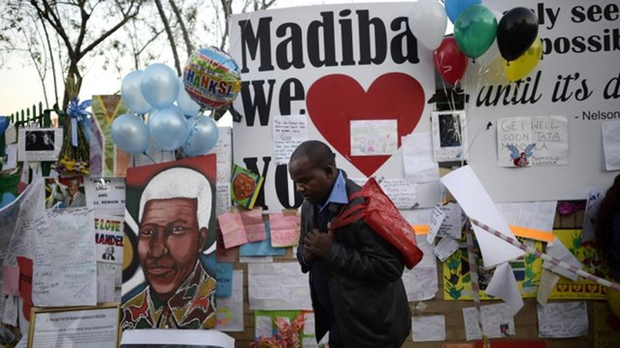 Nelson Mandela condition worsens as Zuma cancels trip 44691