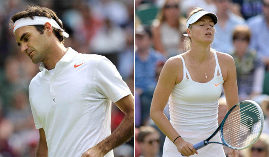 Roger Federer, Maria Sharapova suffer upset losses at Wimbledon 44715