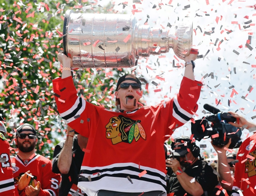 Chicago Blackhawks revel in Stanley Cup parade, rally 44755