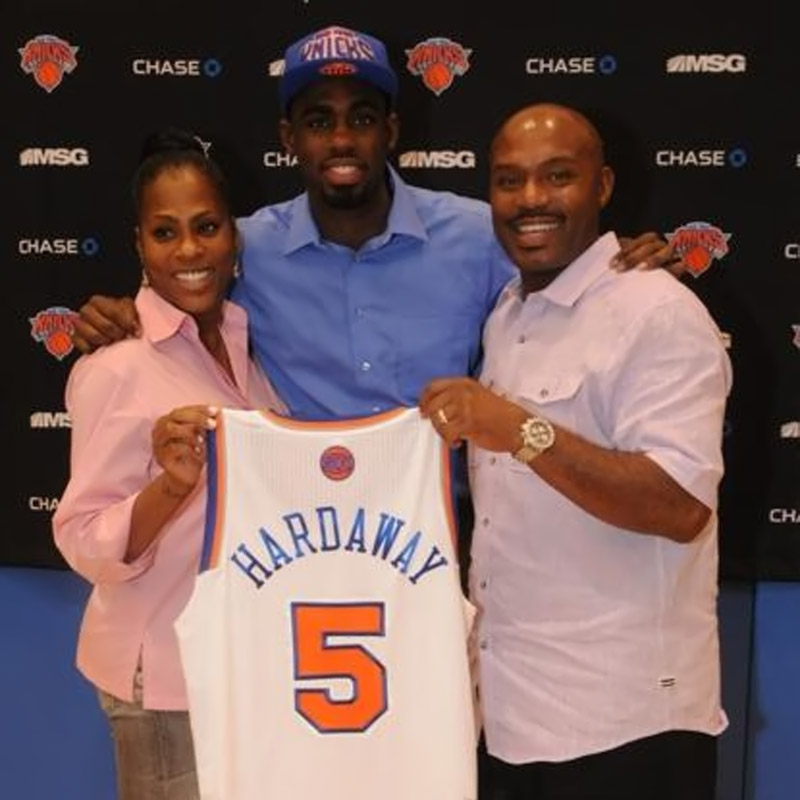 Former Heat star Hardaway Sr. says he can root for Knicks, now his son's team, despite past rivalry 44765