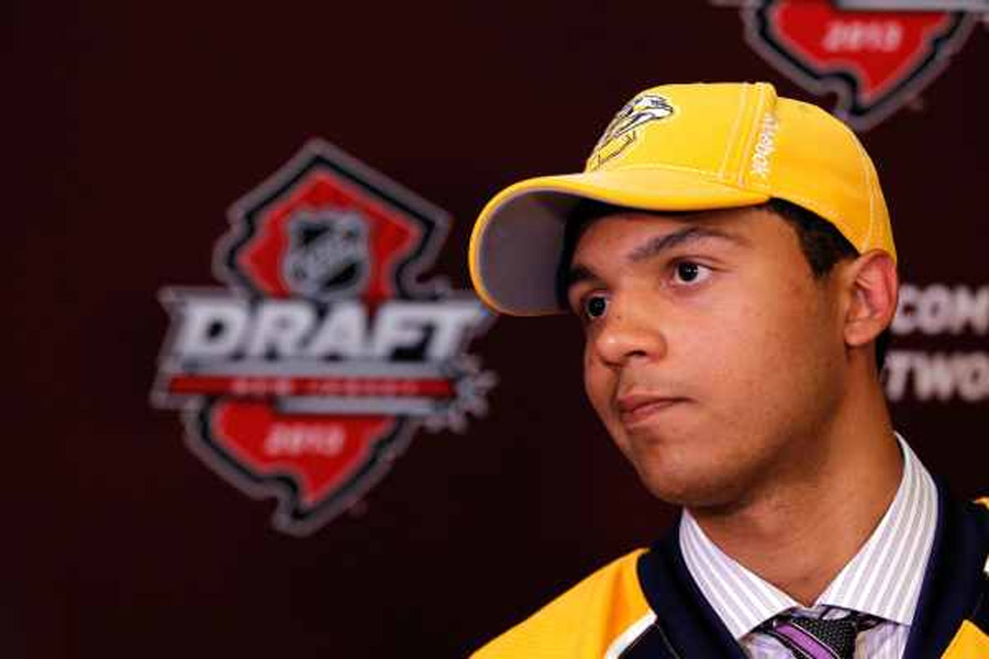 Jones thrilled to start career on Predators' blue-line 44808
