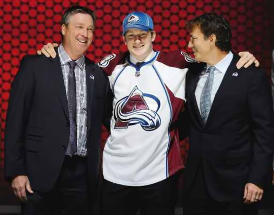 Colorado Avalanche take centre Avs take Nathan MacKinnon first in NHL entry draft 44809