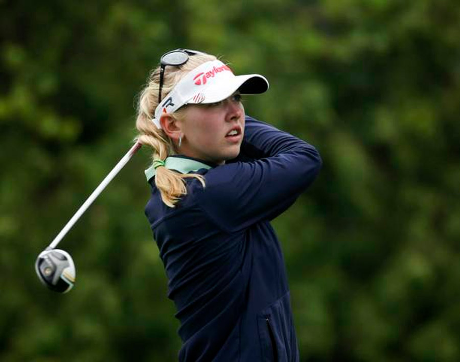 Jessica Korda fires caddie during U.S. Women's Open play 44828