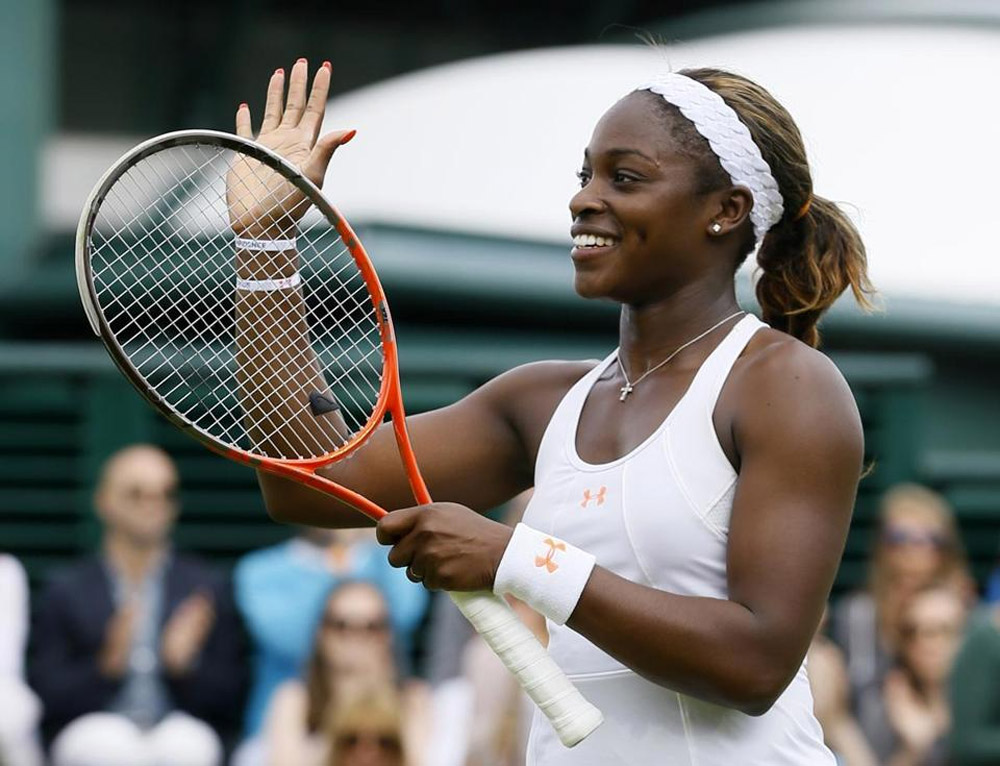 Wimbledon notes: Sloane Stephens is last US player 44853