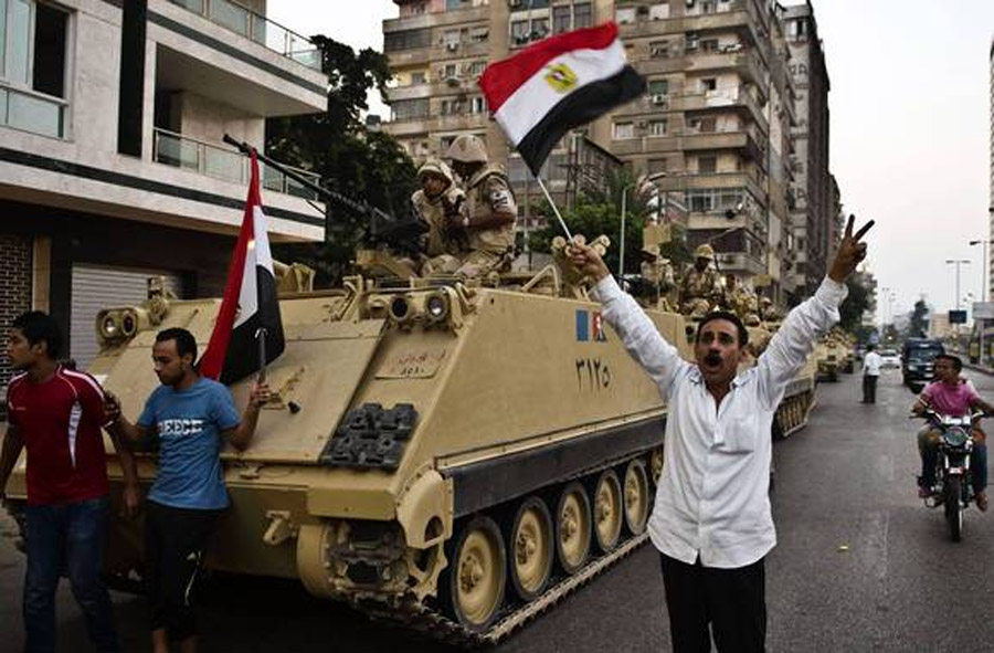 Egypt's army ousts president, causing dilemmas for the West 44891