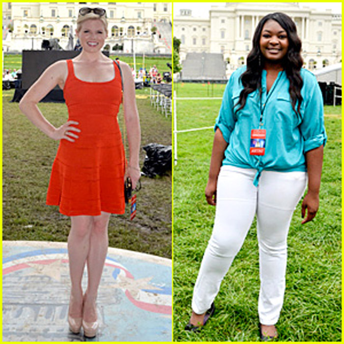Megan Hilty & Candice Glover: Capitol Fourth Rehearsals! 44943