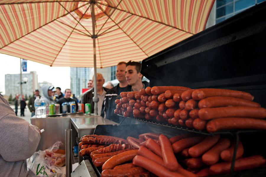 Nathan's Hot Dog Eating Contest 2013 results: Joey Chestnut breaks record with 69 hot dogs 44957