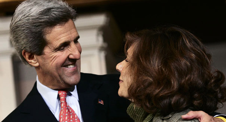 Teresa Heinz Kerry hospitalized 44991