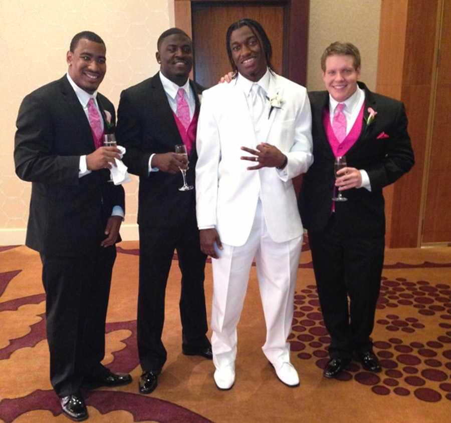 RGIII's wedding to Rebecca Liddicoat 44993