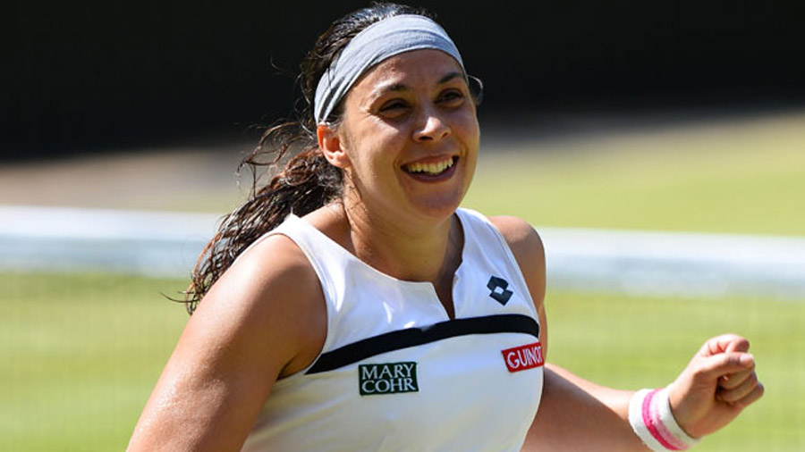 Marion Bartoli beats Sabine Lisicki to win title 45007