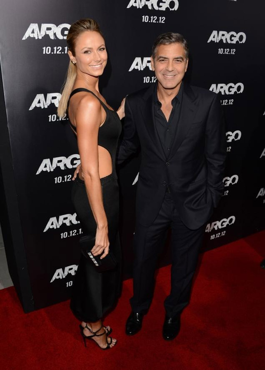 GEORGE CLOONEY, STACY KEIBLER CELEBRATE FOURTH OF JULY APART 45028