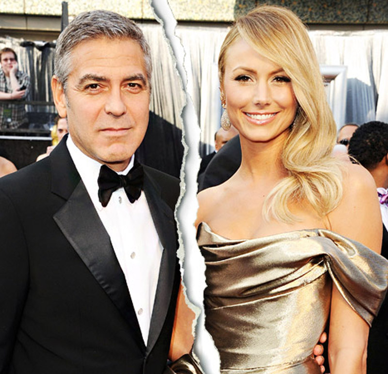 George Clooney, Stacy Keibler Break Up 45030