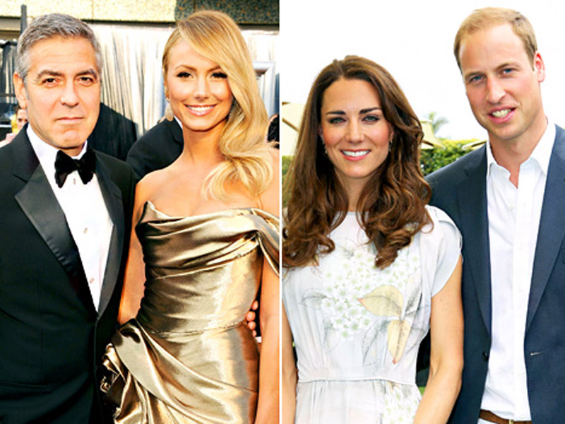George Clooney and Stacy Keibler Break Up, Kate Middleton and Prince William's Baby Gets Official Title: Top 5 Stories 45031