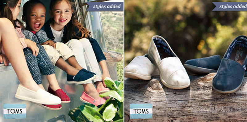 Save up to 35% on Toms Shoes today on Zulily! HURRY, HURRY, HURRY this sale sold out fast last time! 45085