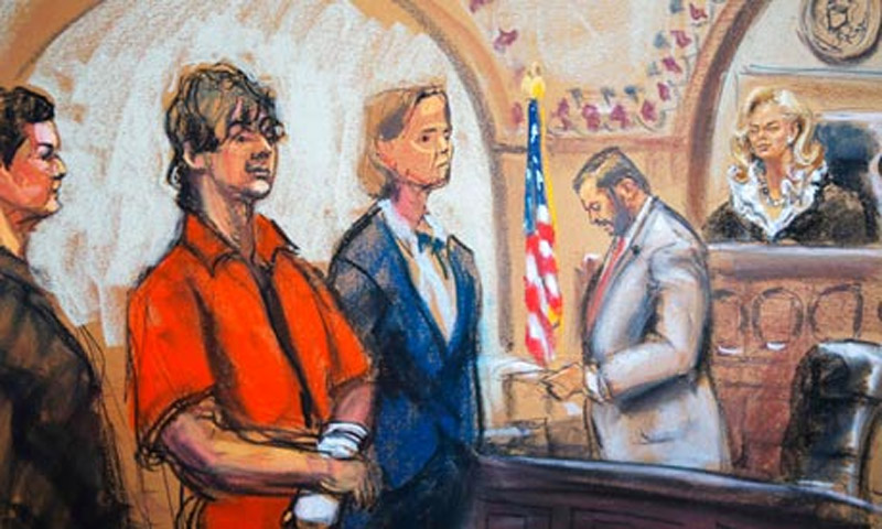 Dzhokhar Tsarnaev pleads not guilty to 30 Boston Marathon bombing charges 45100