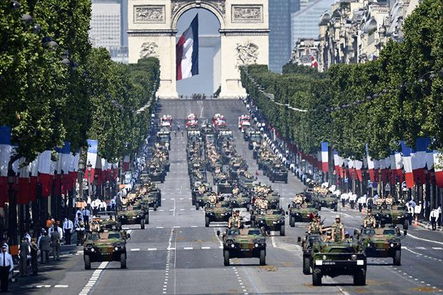 France invites African troops to join in Bastille Day celebrations 45171