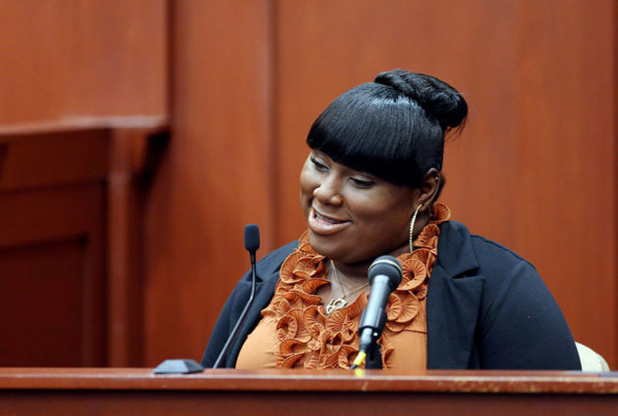 Rachel Jeantel on Zimmerman case: 'It was racial. Let's be honest' 45207