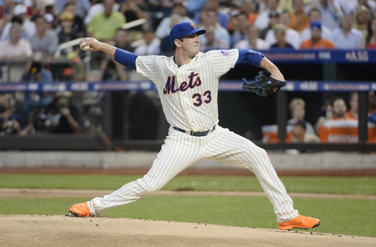 Matt Harvey unveils blinding new shoes at the All-Star game 45211