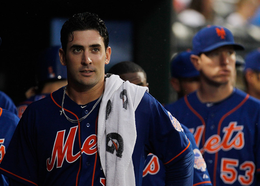 This strapping young man is New York Mets pitcher Matt Harvey. 45213