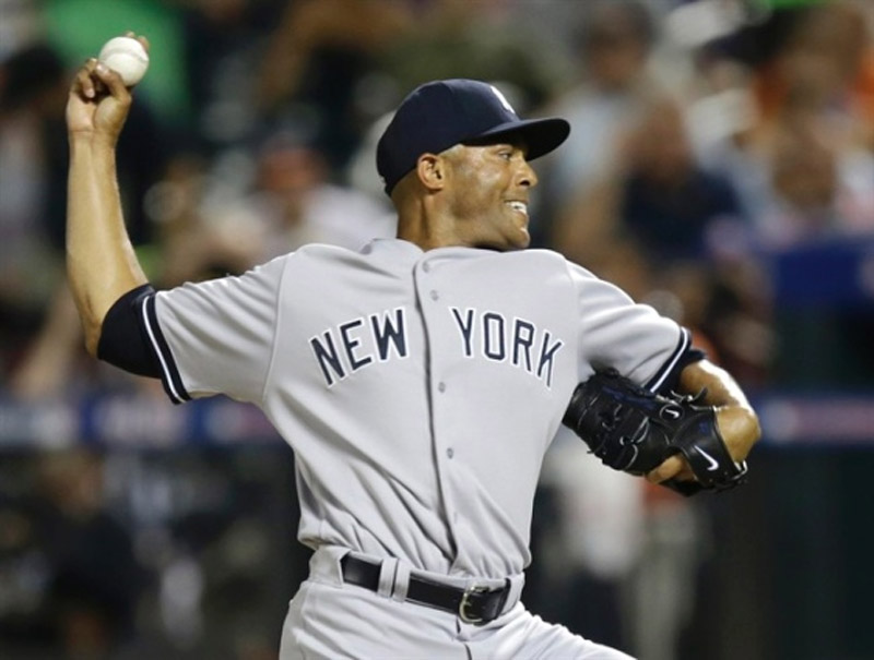 Mariano Rivera pitches 8th inning, helps AL beat NL 3-0 in All-Star send-off 45219