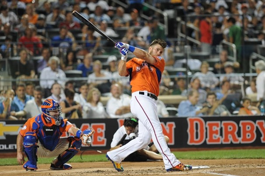 Bryce Harper second to Yoenis Cespedes in 2013 MLB Home Run Derby 45224