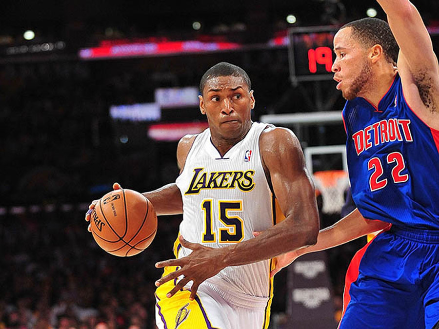 Metta World Peace's first choice of team in 2009 was shocking 45253