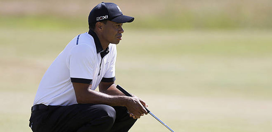 Tiger shows guts of old at Muirfield 45282