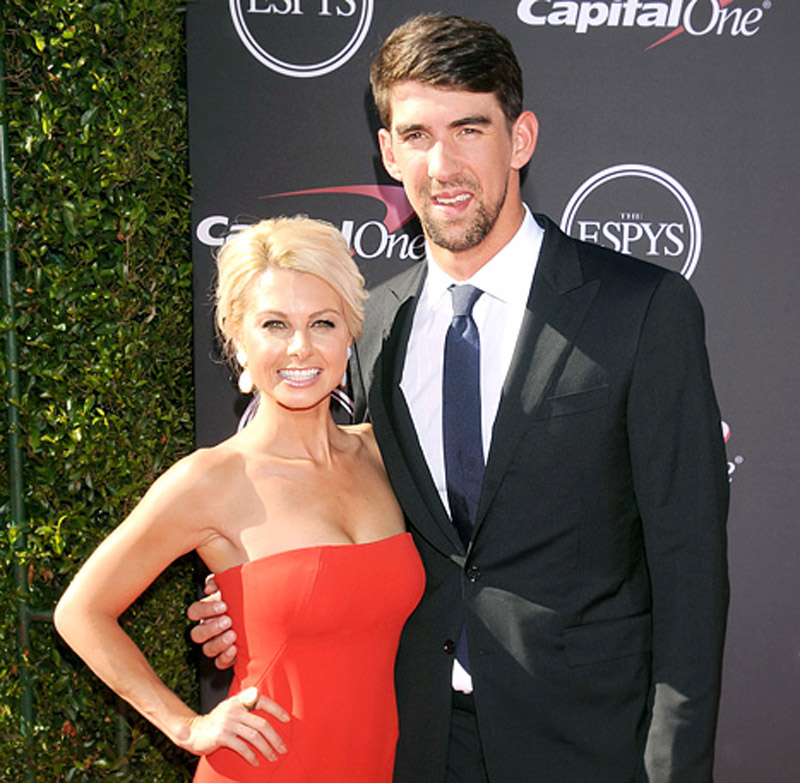 Michael Phelps Poses With New Girlfriend Win McMurry at the ESPY Awards 45304