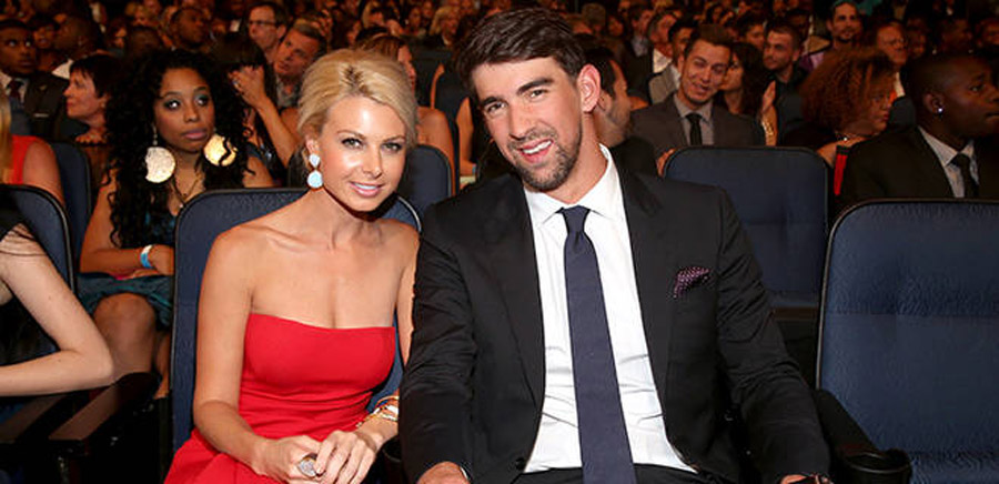Phelps dazzles with date at ESPYS 45306