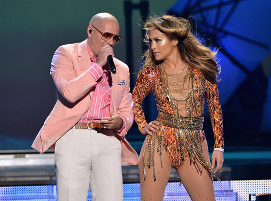 Jennifer Lopez Makes a Splash (Literally) With Pitbull at 2013 Premios Juventud Awards—Watch! 45314