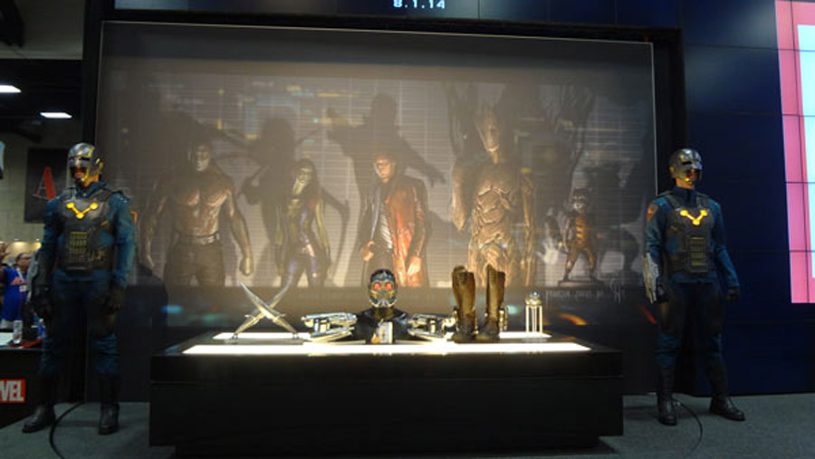 Guardians Of The Galaxy Props And Costumes Revealed In Comic-Con Exhibit 45341