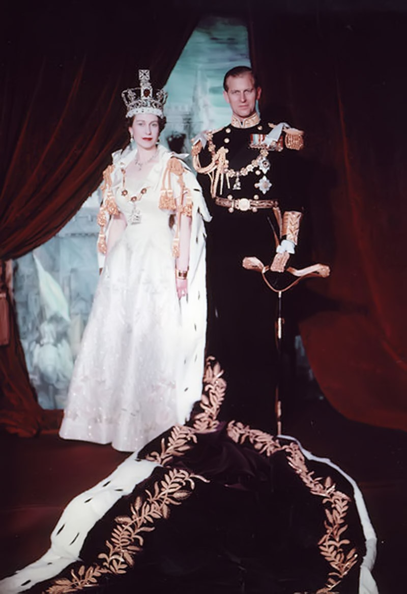 Elizabeth and Philip 1953 45370
