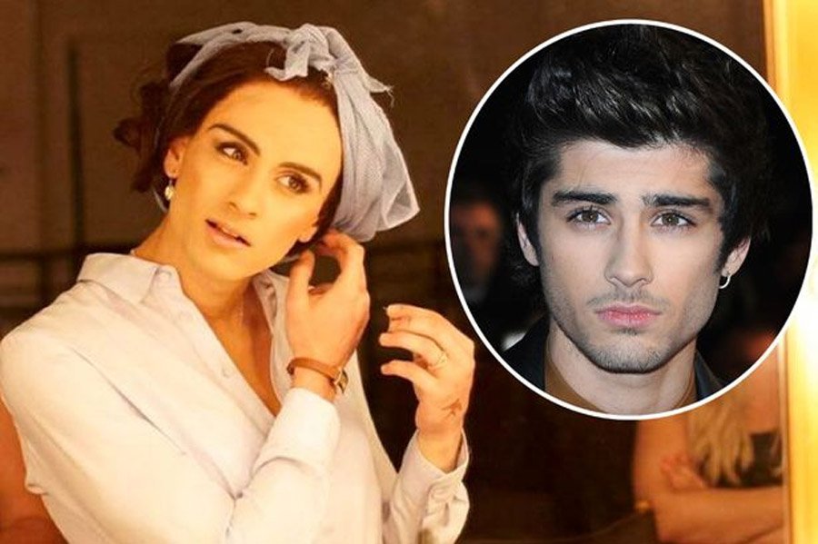 "Zayn Malik cross-dresses as ""sexy secretary"" the best song in the music video ever 45387"