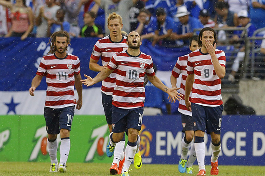 U.S. takes on Panama in Gold Cup final 45452