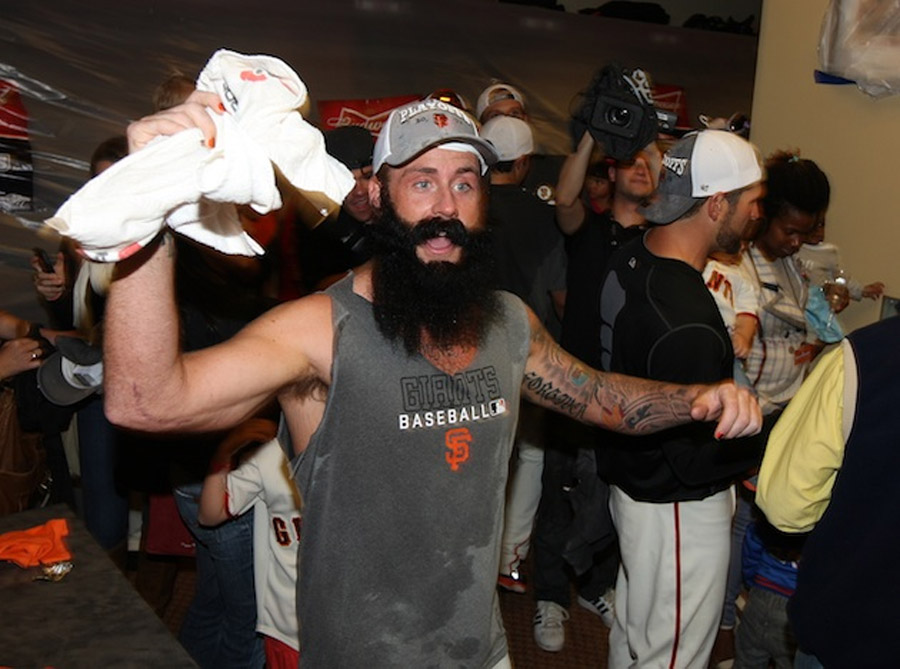Brian Wilson to the Los Angeles Dodgers? Now he needs a blue beard 45548