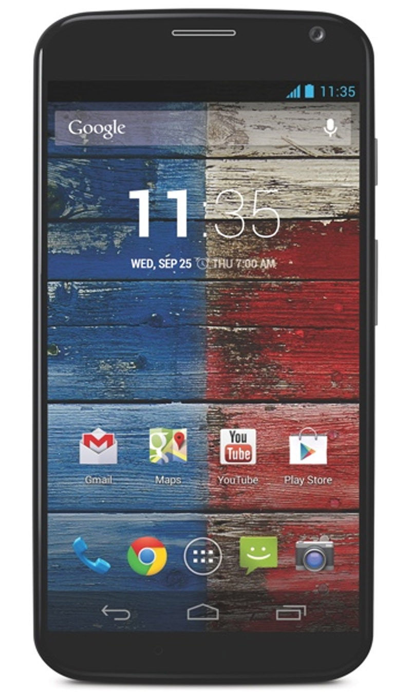 Motorola Unveils 4.7-Inch Moto X Smartphone with 24-Hour Battery and Touchless Controls 45633