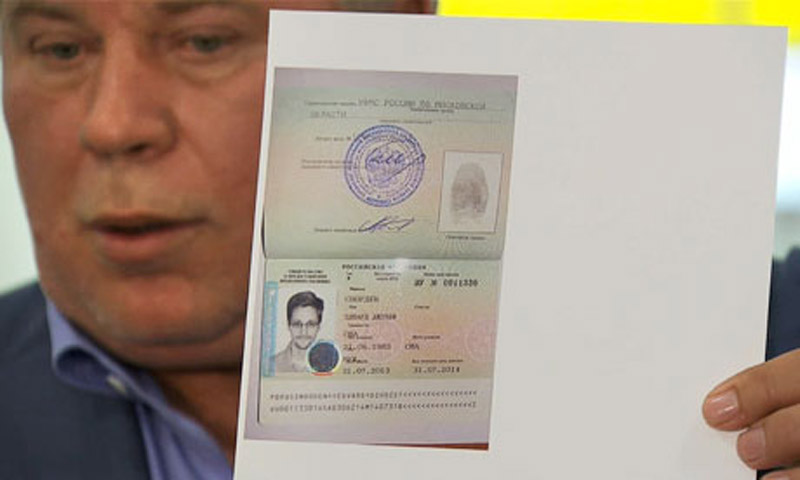 Edward Snowden asylum: US 'disappointed' by Russian decision 45649