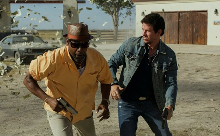 Denzel Washington and Mark Wahlberg Star in '2 Guns' 45683