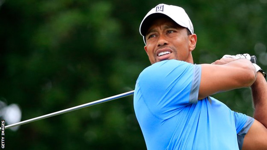 Tiger Woods equals career-best round of 61 to take lead in Ohio 45690