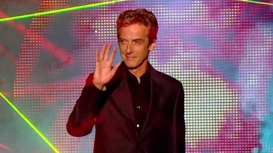 The Thick Of It star Peter Capaldi is revealed as the twelfth Time Lord 45708