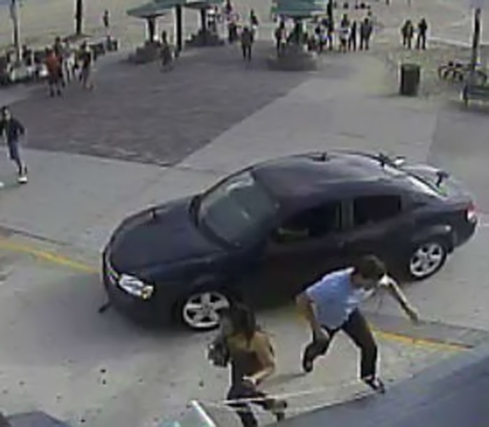 Suspect arrested in Venice Beach boardwalk crash 'was looking for blood,' witnesses say 45752