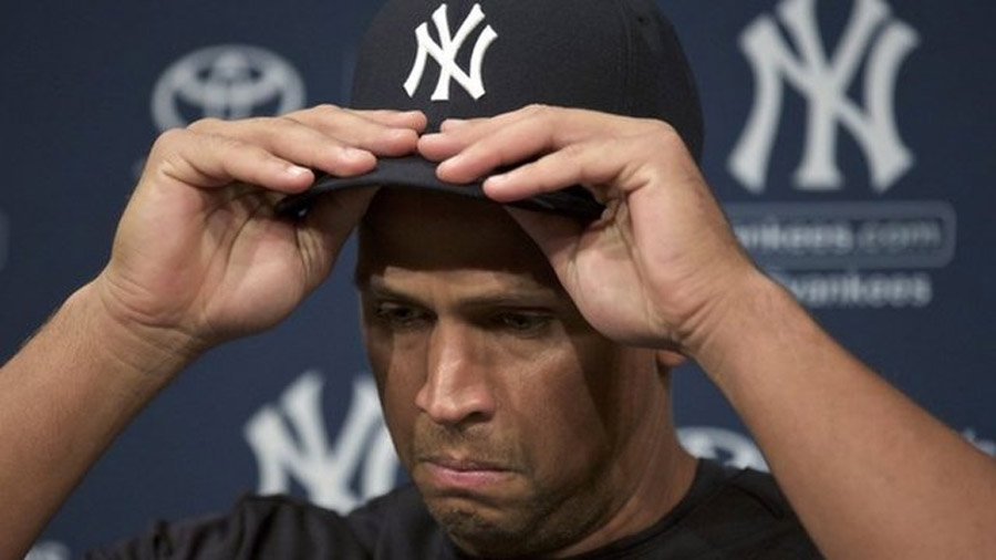New York Yankees' Alex Rodriguez in baseball doping ban 45754