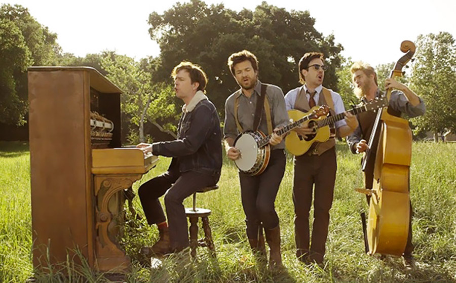 Mumford & Sons get Jason Sudeikis, Jason Bateman and more to spoof them in 'Hopeless Wanderer 45784