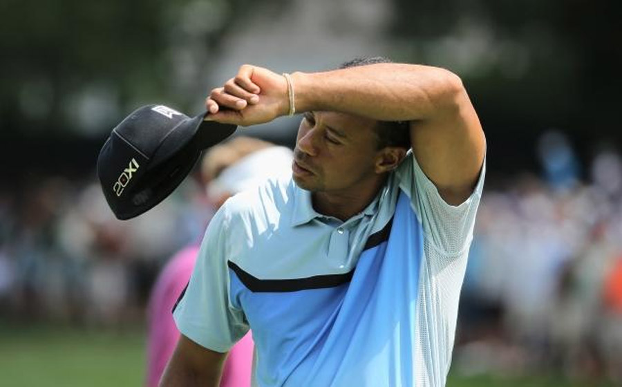 Struggling Tiger Woods not undone by double-bogey on final hole at PGA Championship 45872
