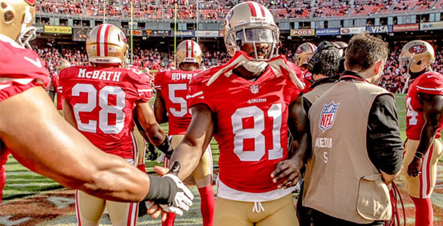 Boldin, Moore Start as 49ers WRs 45895