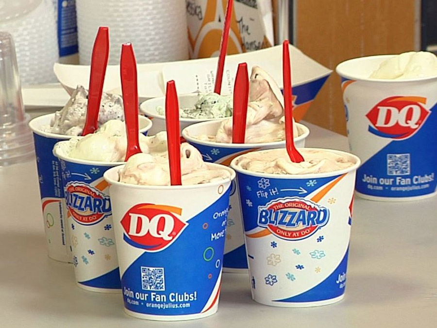 Blizzards Flying Out Of Madison Dairy Queen 45905