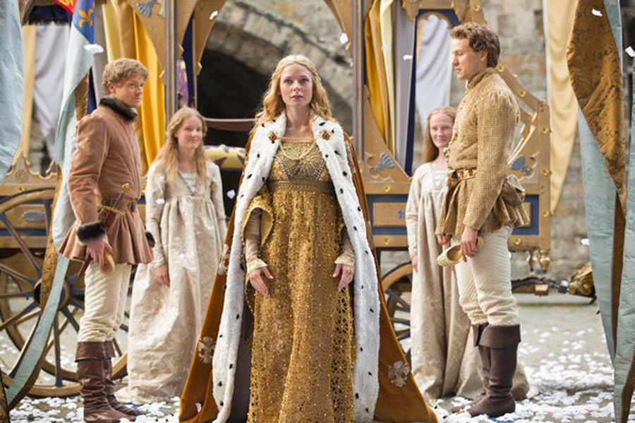 The White Queen' on Starz looks at the Wars of the Roses' women 45986