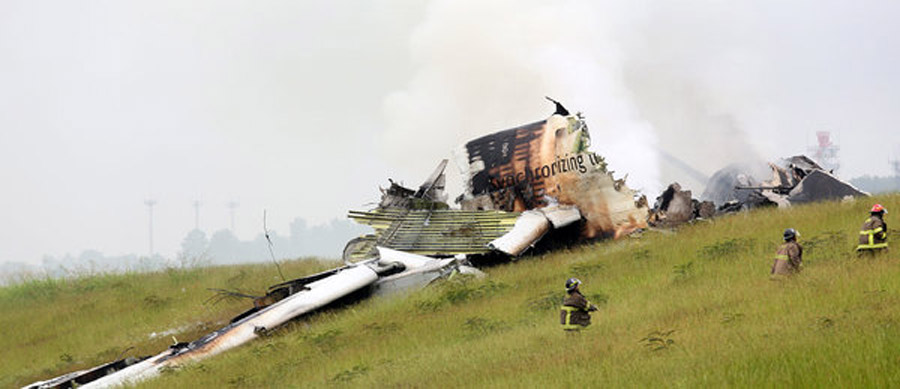 U.P.S. Cargo Plane Crashes in Alabama 45996