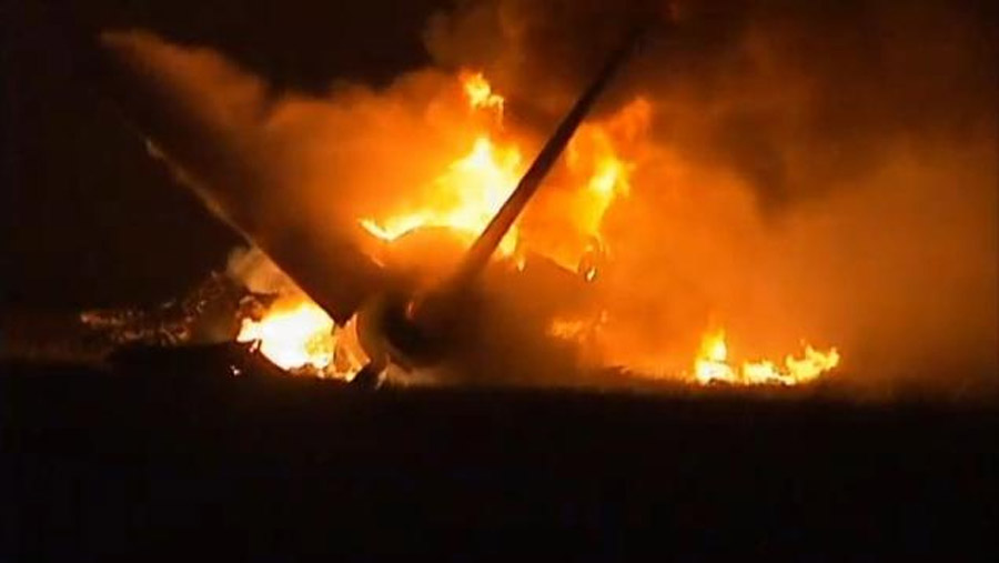 2 killed in explosive UPS cargo plane crash in Birmingham, Alabama 46000