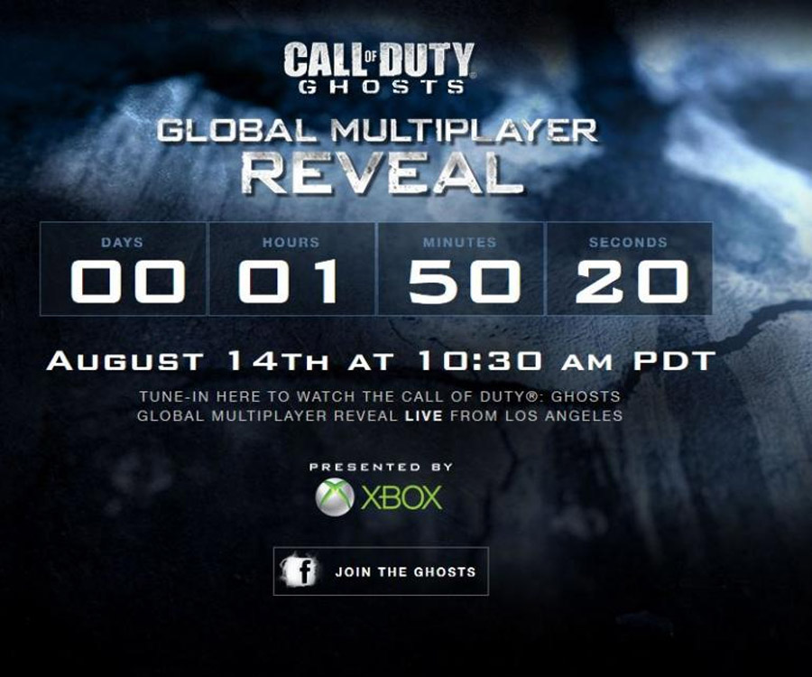 Call of Duty: Ghosts': World's First Look At Multiplayer Reveals 'CoD: Ghosts' Features, Gameplay, Weapons, Game Modes, Season Pass DLC, More 46014